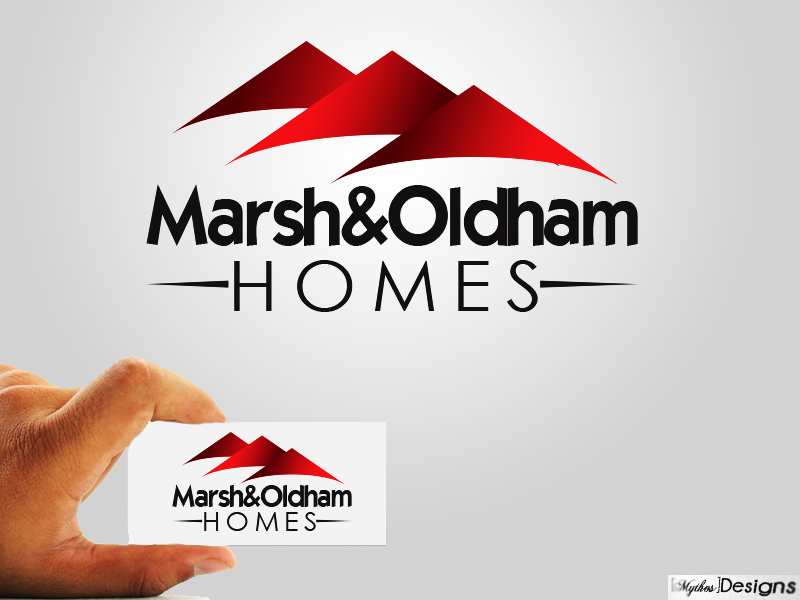 Logo Design by Mythos Designs - Entry No. 17 in the Logo Design Contest Artistic Logo Design for Marsh & Oldham Homes.