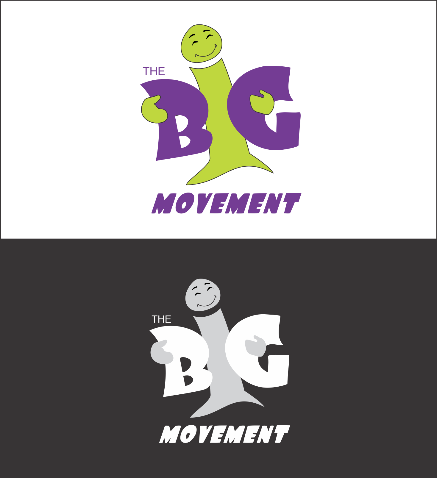 Logo Design by NEHA CHAVAN - Entry No. 12 in the Logo Design Contest Warm, Fun & Friendly Logo Design for BIG UK.