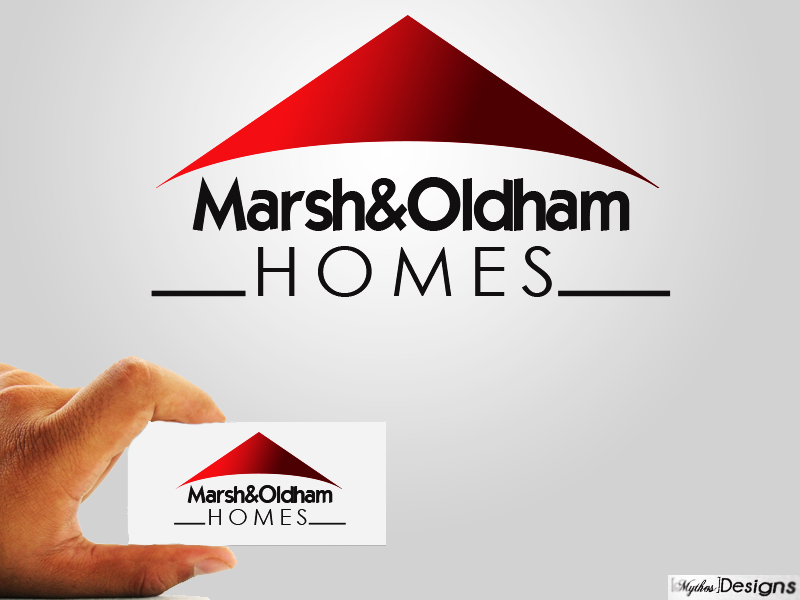 Logo Design by Mythos Designs - Entry No. 18 in the Logo Design Contest Artistic Logo Design for Marsh & Oldham Homes.
