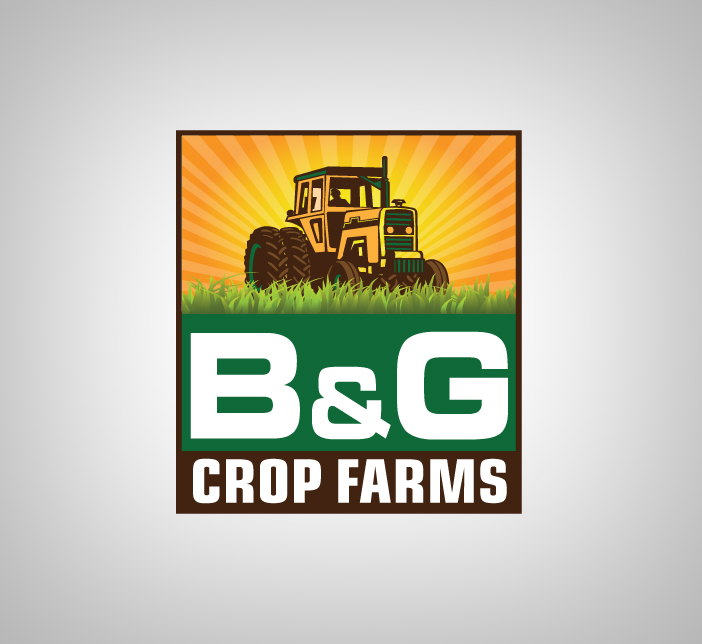 Logo Design by nausigeo - Entry No. 36 in the Logo Design Contest Artistic Logo Design for B & G Crop Farms.