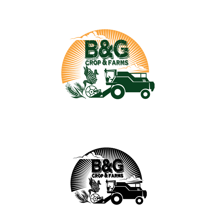 Logo Design by lagalag - Entry No. 40 in the Logo Design Contest Artistic Logo Design for B & G Crop Farms.