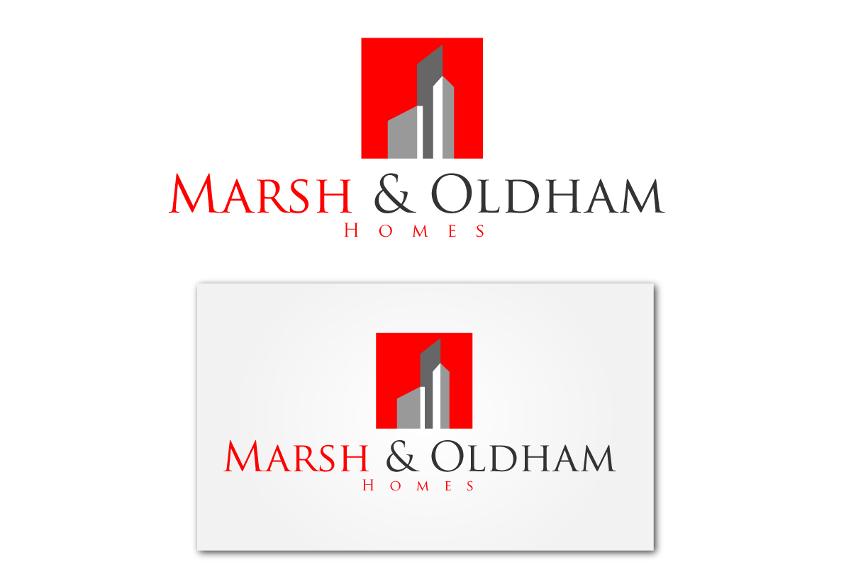 Logo Design by Jagdeep Singh - Entry No. 22 in the Logo Design Contest Artistic Logo Design for Marsh & Oldham Homes.