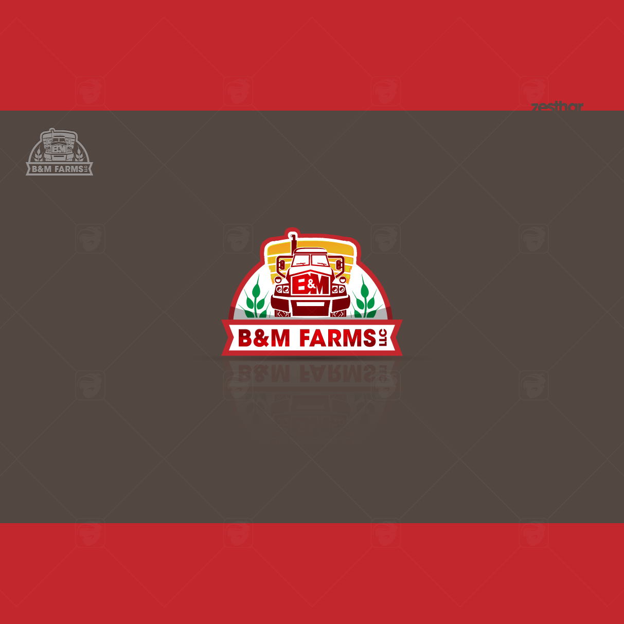 Logo Design by zesthar - Entry No. 48 in the Logo Design Contest Creative Logo Design for B & M Farms, LLC.