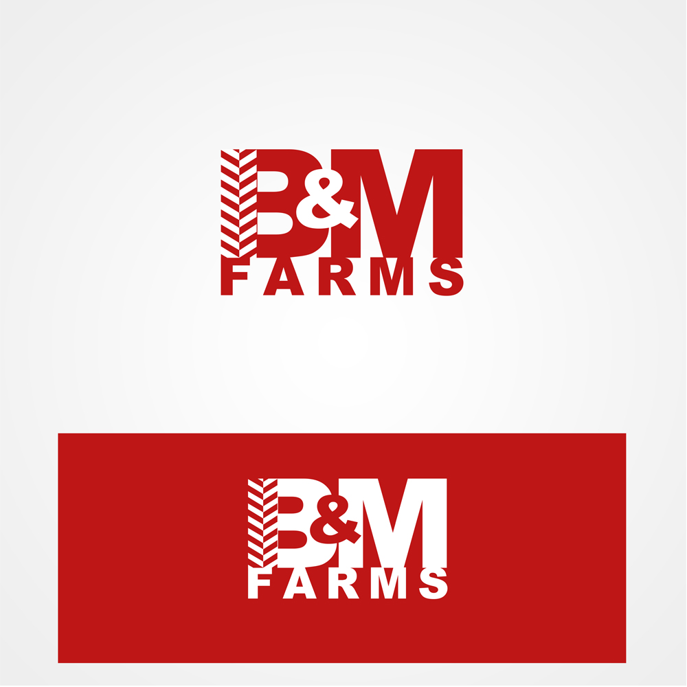 Logo Design by omARTist - Entry No. 49 in the Logo Design Contest Creative Logo Design for B & M Farms, LLC.