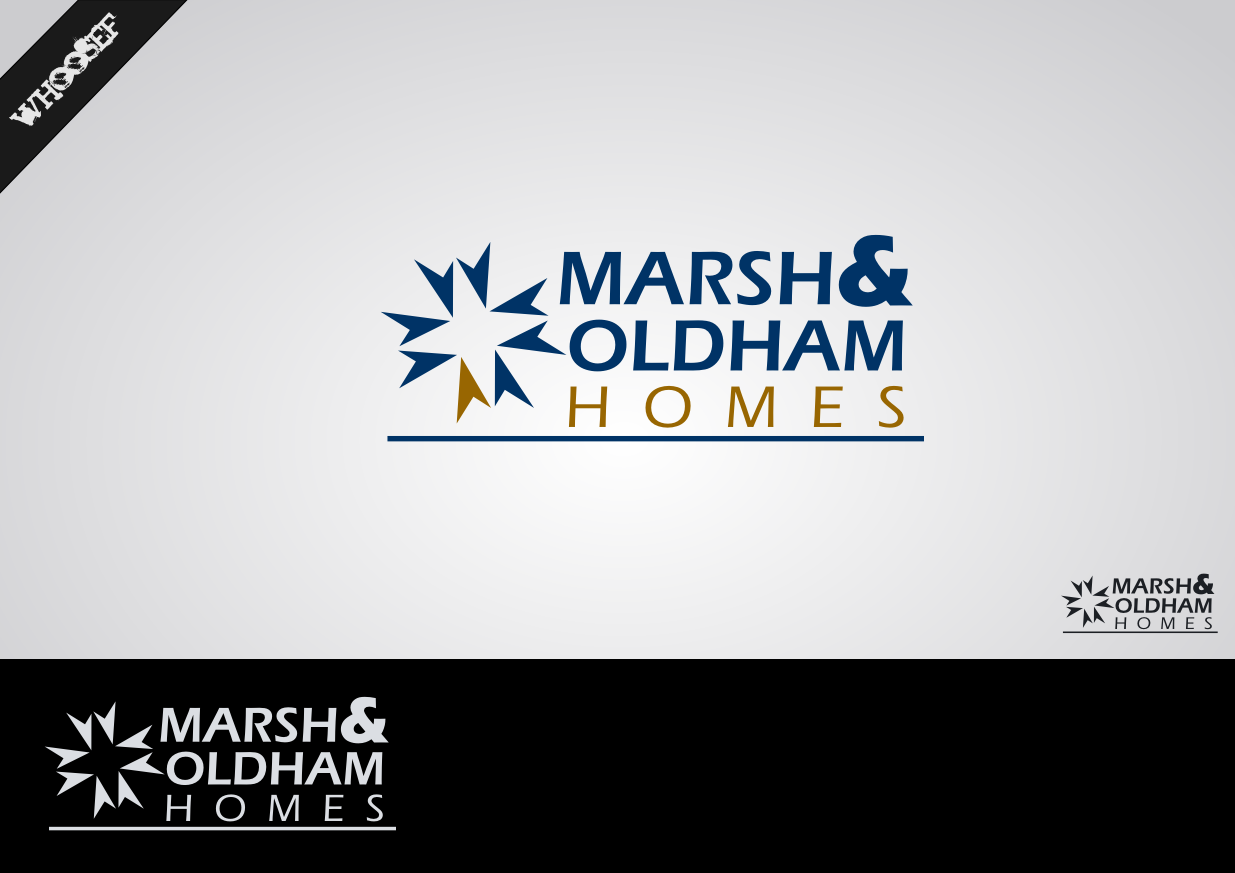 Logo Design by whoosef - Entry No. 24 in the Logo Design Contest Artistic Logo Design for Marsh & Oldham Homes.
