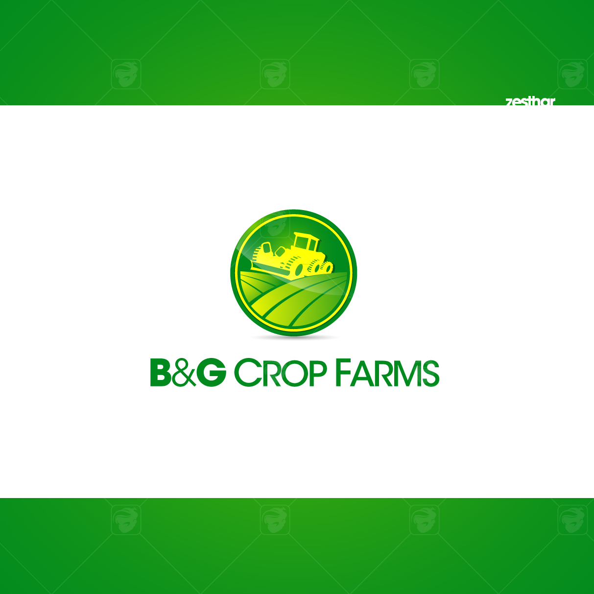 Logo Design by zesthar - Entry No. 42 in the Logo Design Contest Artistic Logo Design for B & G Crop Farms.