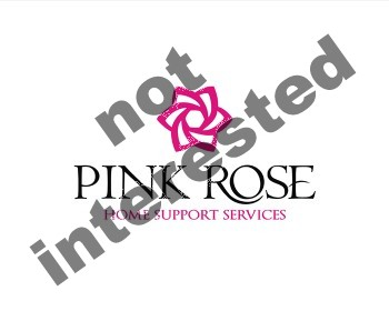 Logo Design by key - Entry No. 74 in the Logo Design Contest Pink Rose Home Support Services.