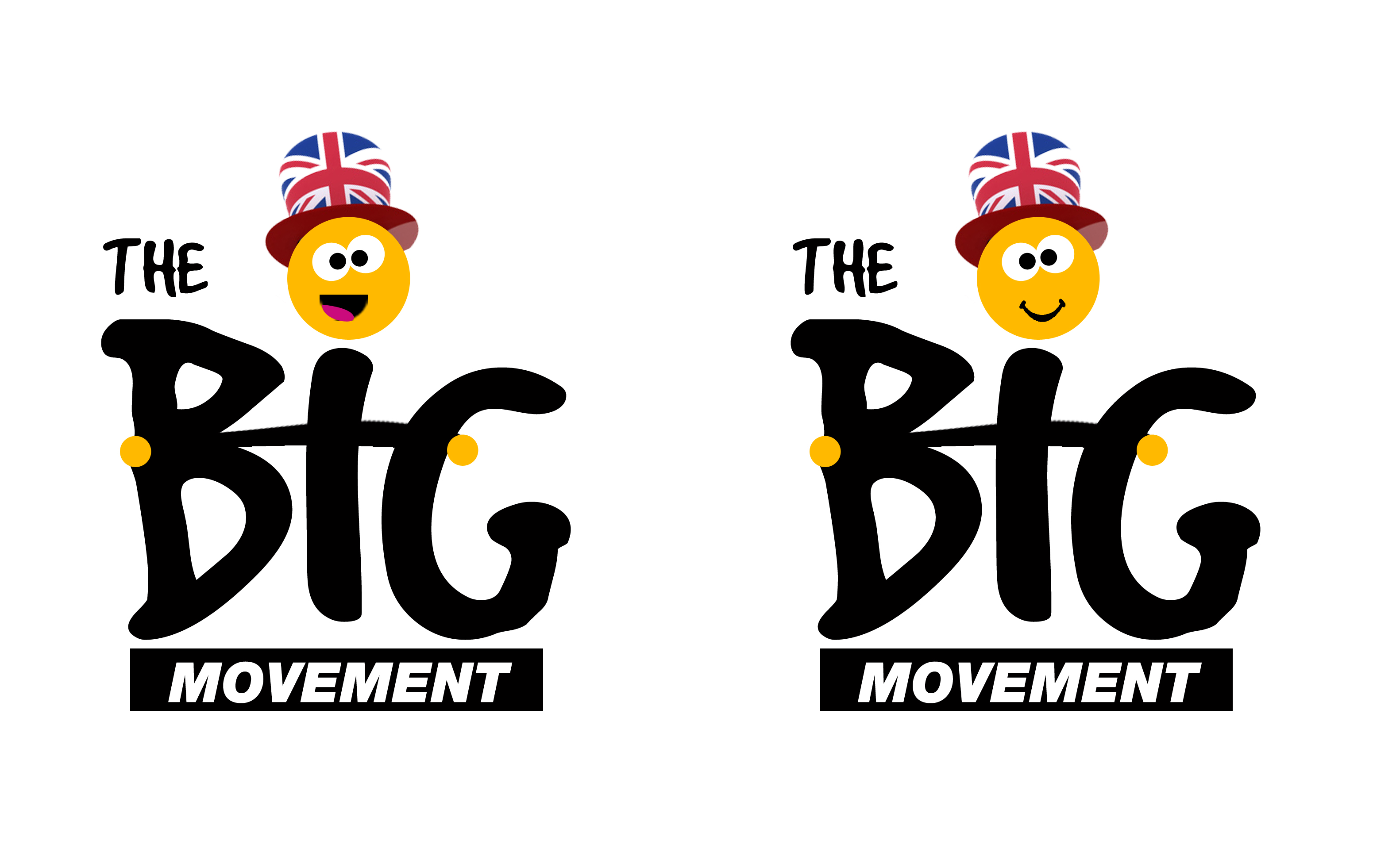 Logo Design by Lama Creative - Entry No. 30 in the Logo Design Contest Warm, Fun & Friendly Logo Design for BIG UK.