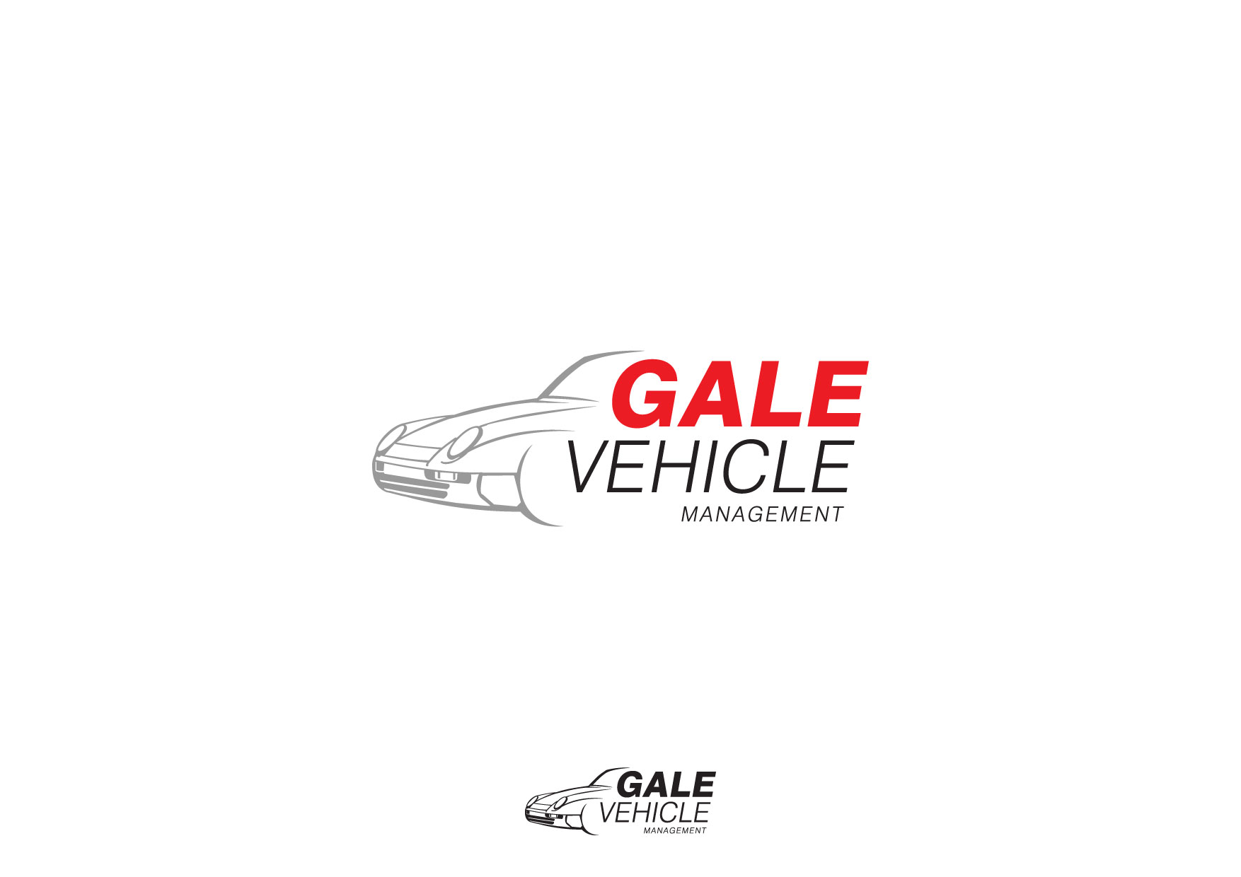 Logo Design by Nurgalih Destianto - Entry No. 24 in the Logo Design Contest Artistic Logo Design for Gale Vehicle Management.