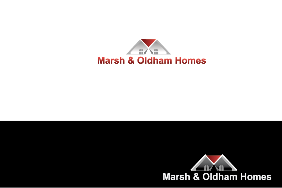 Logo Design by Private User - Entry No. 33 in the Logo Design Contest Artistic Logo Design for Marsh & Oldham Homes.