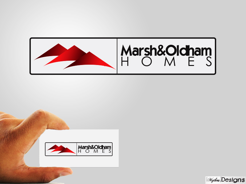 Logo Design by Mythos Designs - Entry No. 35 in the Logo Design Contest Artistic Logo Design for Marsh & Oldham Homes.