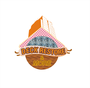 Logo Design by hafizshaikh7 - Entry No. 58 in the Logo Design Contest Deck Restore & More.