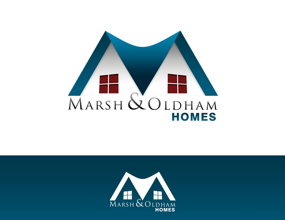 Logo Design by Juan_Kata - Entry No. 37 in the Logo Design Contest Artistic Logo Design for Marsh & Oldham Homes.