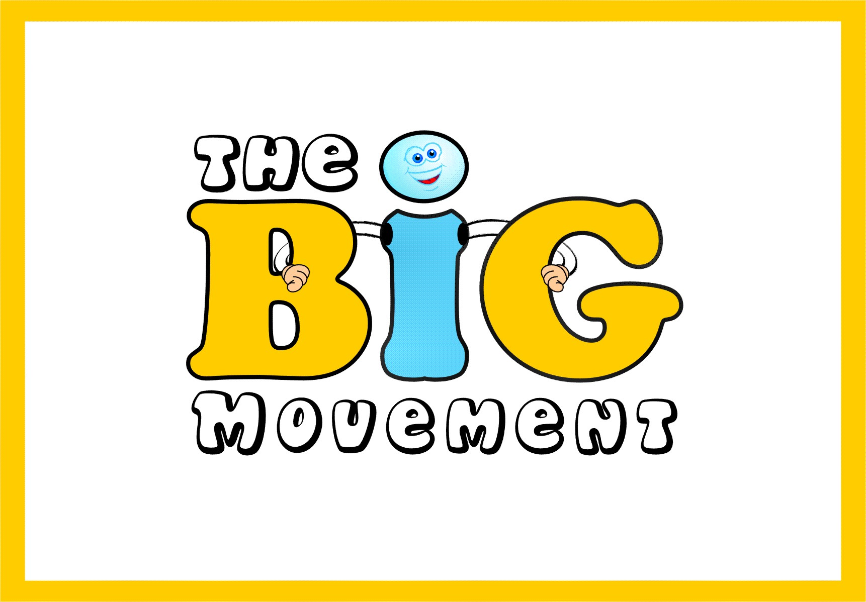 Logo Design by Ngepet_art - Entry No. 36 in the Logo Design Contest Warm, Fun & Friendly Logo Design for BIG UK.