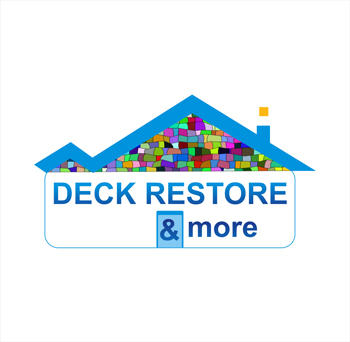 Logo Design by hafizshaikh7 - Entry No. 59 in the Logo Design Contest Deck Restore & More.