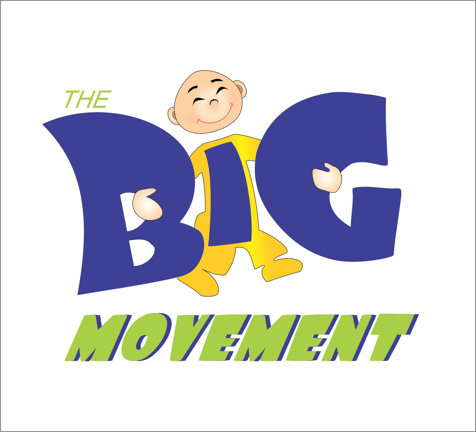 Logo Design by NEHA CHAVAN - Entry No. 40 in the Logo Design Contest Warm, Fun & Friendly Logo Design for BIG UK.
