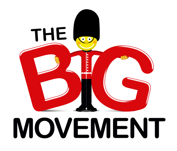 Logo Design by Private User - Entry No. 43 in the Logo Design Contest Warm, Fun & Friendly Logo Design for BIG UK.