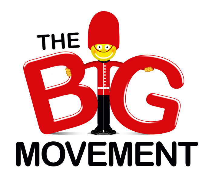 Logo Design by Private User - Entry No. 44 in the Logo Design Contest Warm, Fun & Friendly Logo Design for BIG UK.