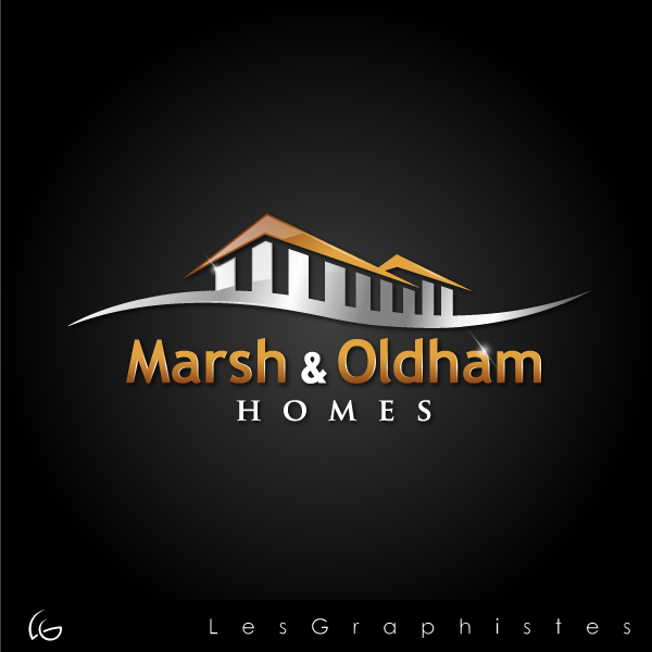 Logo Design by Les-Graphistes - Entry No. 44 in the Logo Design Contest Artistic Logo Design for Marsh & Oldham Homes.