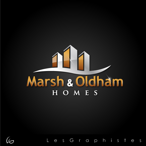 Logo Design by Les-Graphistes - Entry No. 45 in the Logo Design Contest Artistic Logo Design for Marsh & Oldham Homes.
