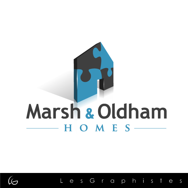 Logo Design by Les-Graphistes - Entry No. 46 in the Logo Design Contest Artistic Logo Design for Marsh & Oldham Homes.