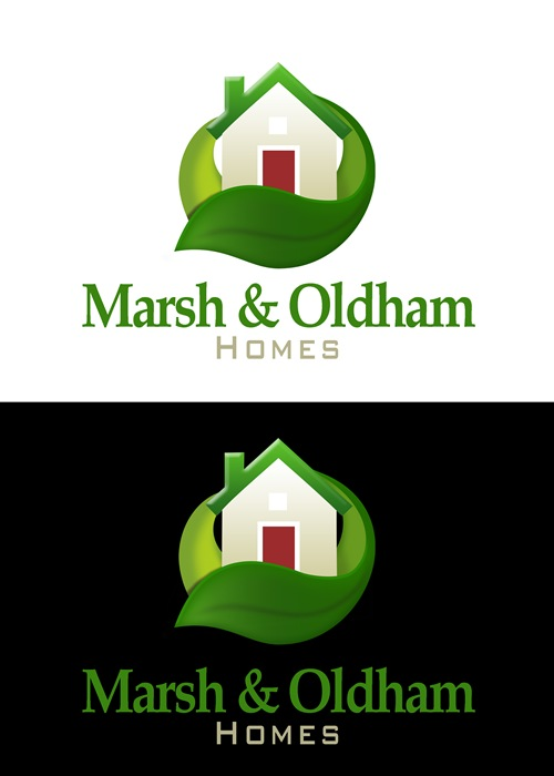 Logo Design by Respati Himawan - Entry No. 47 in the Logo Design Contest Artistic Logo Design for Marsh & Oldham Homes.