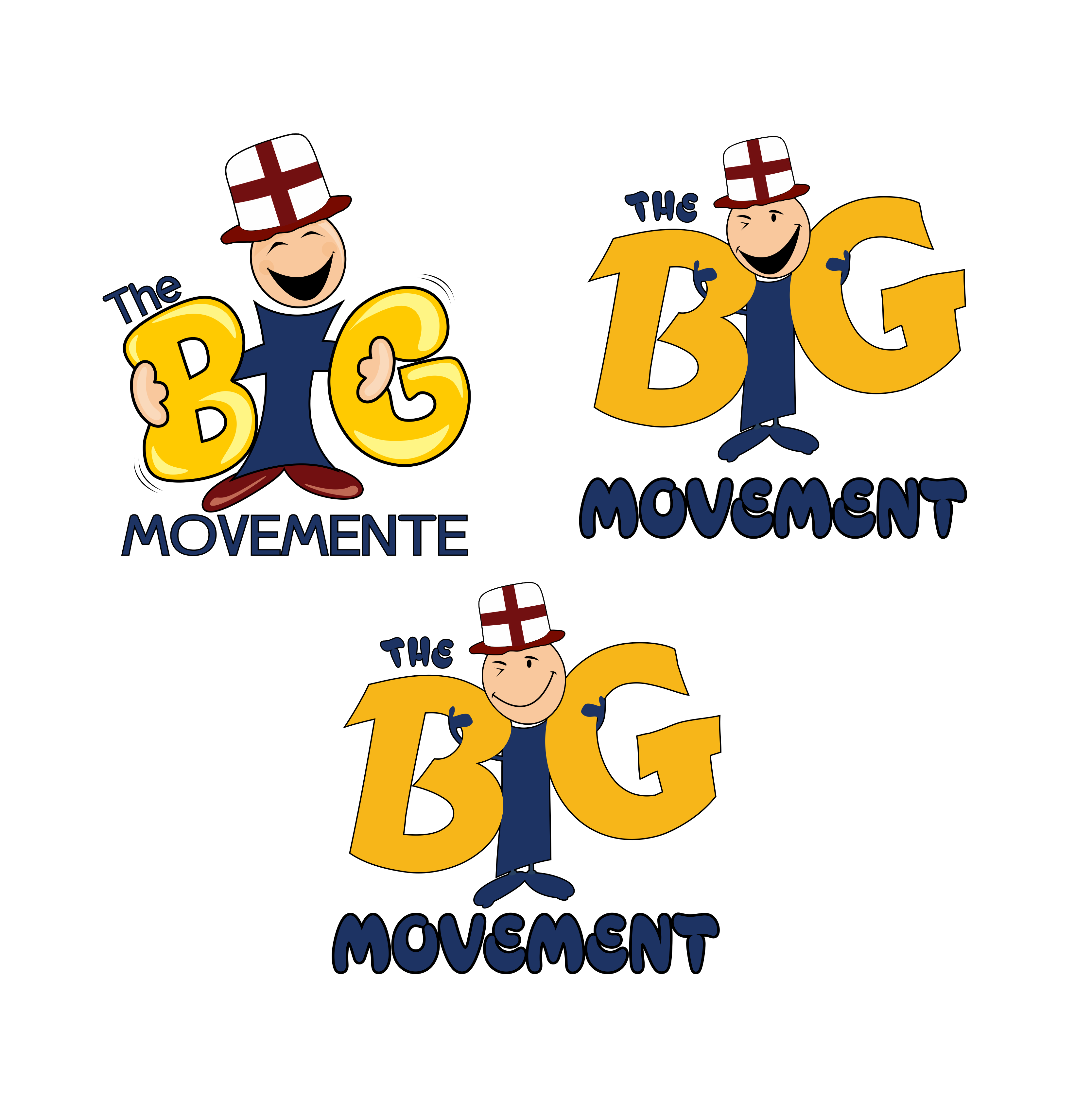 Logo Design by moisesf - Entry No. 59 in the Logo Design Contest Warm, Fun & Friendly Logo Design for BIG UK.