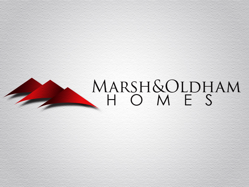 Logo Design by Mythos Designs - Entry No. 50 in the Logo Design Contest Artistic Logo Design for Marsh & Oldham Homes.