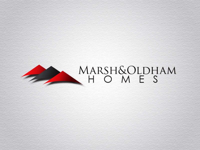 Logo Design by Mythos Designs - Entry No. 51 in the Logo Design Contest Artistic Logo Design for Marsh & Oldham Homes.