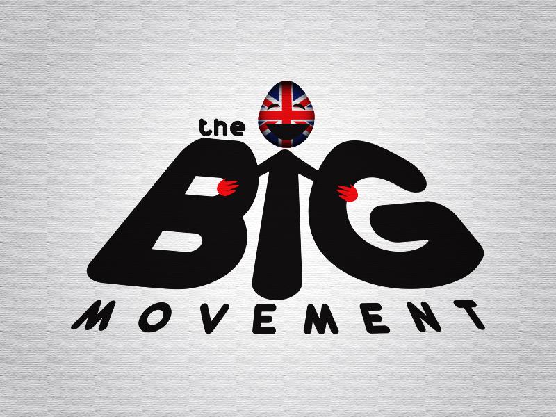 Logo Design by Mythos Designs - Entry No. 65 in the Logo Design Contest Warm, Fun & Friendly Logo Design for BIG UK.