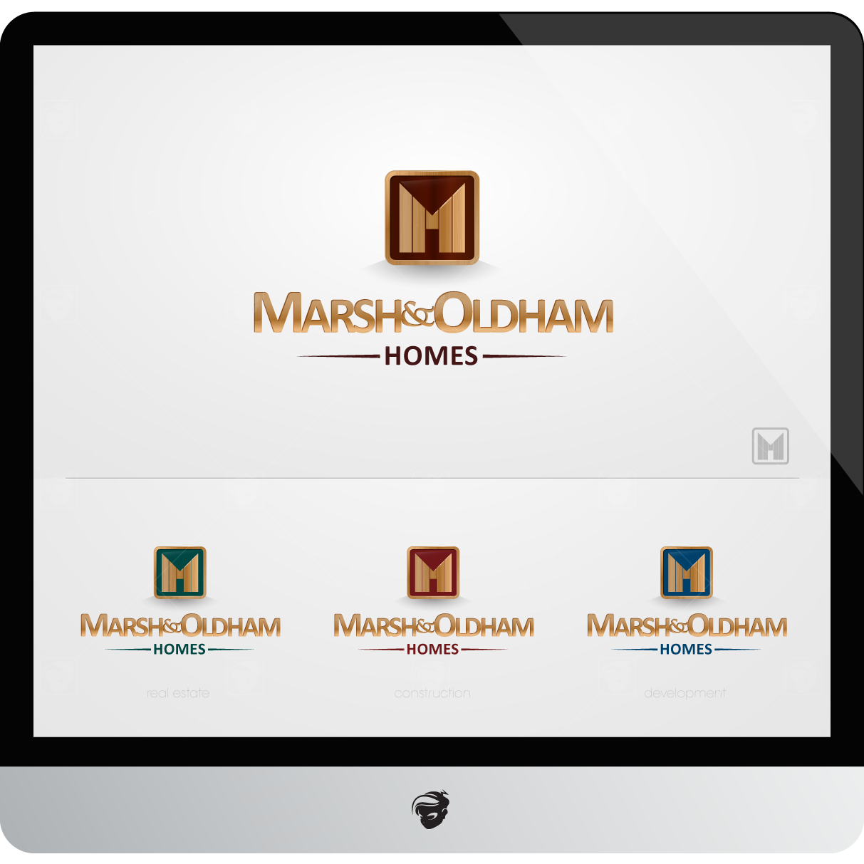 Logo Design by zesthar - Entry No. 53 in the Logo Design Contest Artistic Logo Design for Marsh & Oldham Homes.