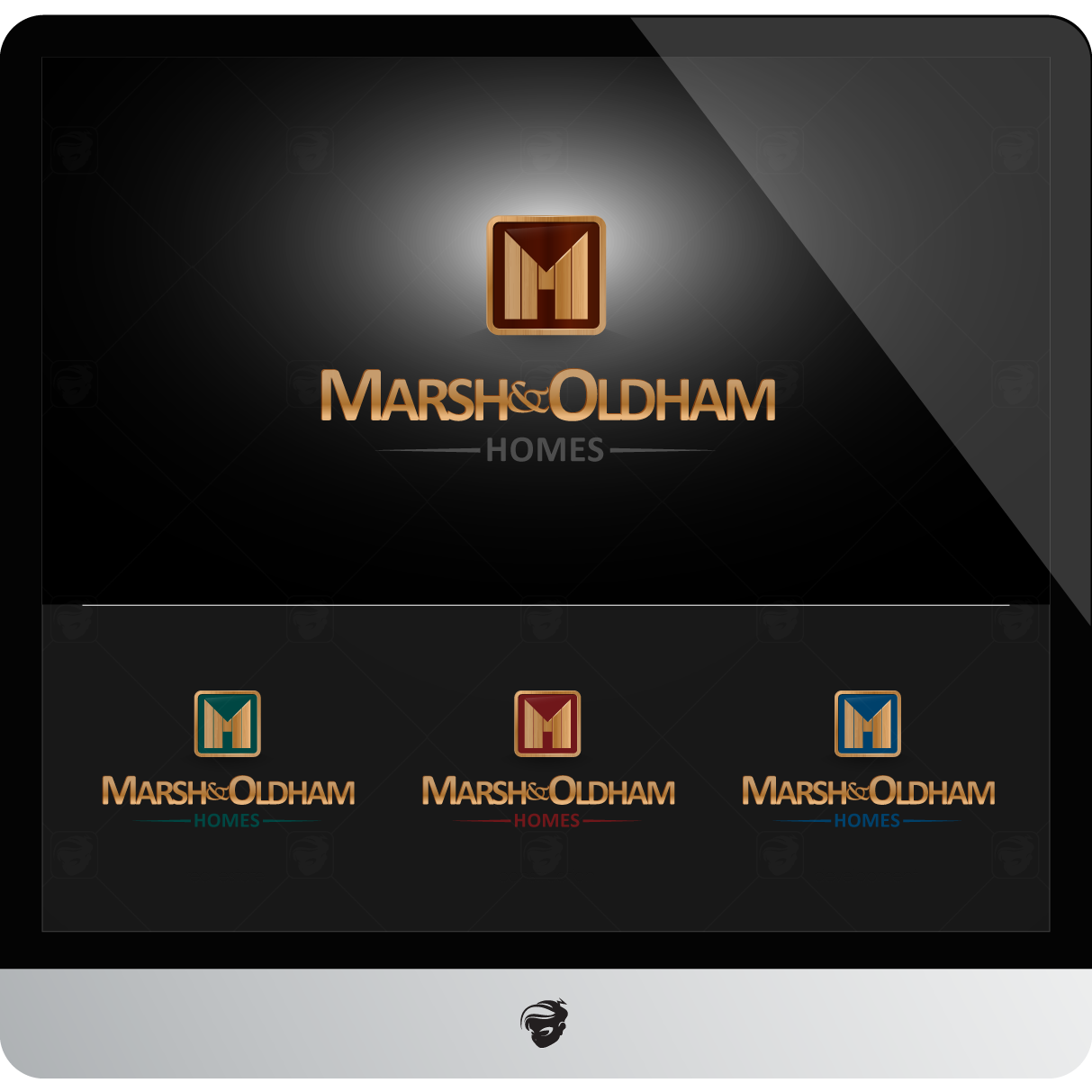 Logo Design by zesthar - Entry No. 54 in the Logo Design Contest Artistic Logo Design for Marsh & Oldham Homes.