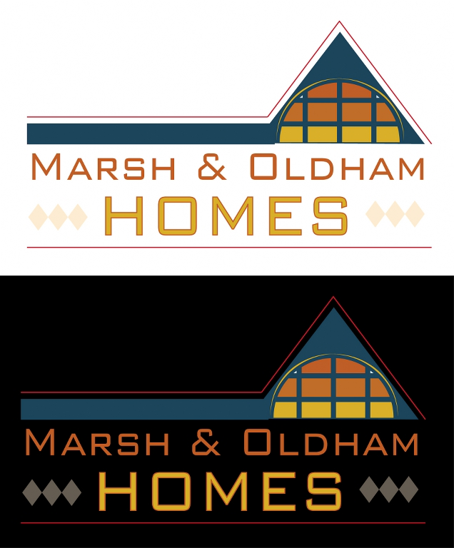 Logo Design by KmProductions - Entry No. 55 in the Logo Design Contest Artistic Logo Design for Marsh & Oldham Homes.