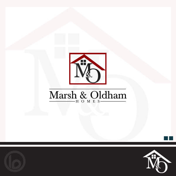Logo Design by lumerb - Entry No. 56 in the Logo Design Contest Artistic Logo Design for Marsh & Oldham Homes.
