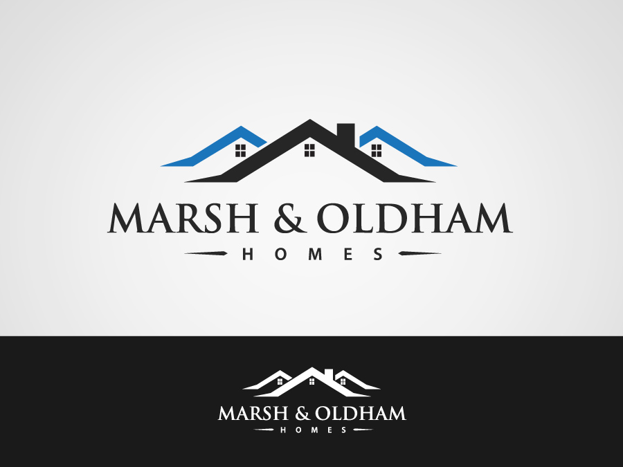 Logo Design by jpbituin - Entry No. 60 in the Logo Design Contest Artistic Logo Design for Marsh & Oldham Homes.