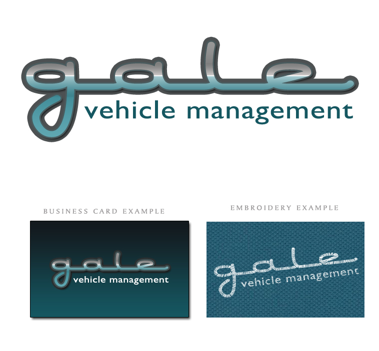 Logo Design by elmd - Entry No. 44 in the Logo Design Contest Artistic Logo Design for Gale Vehicle Management.