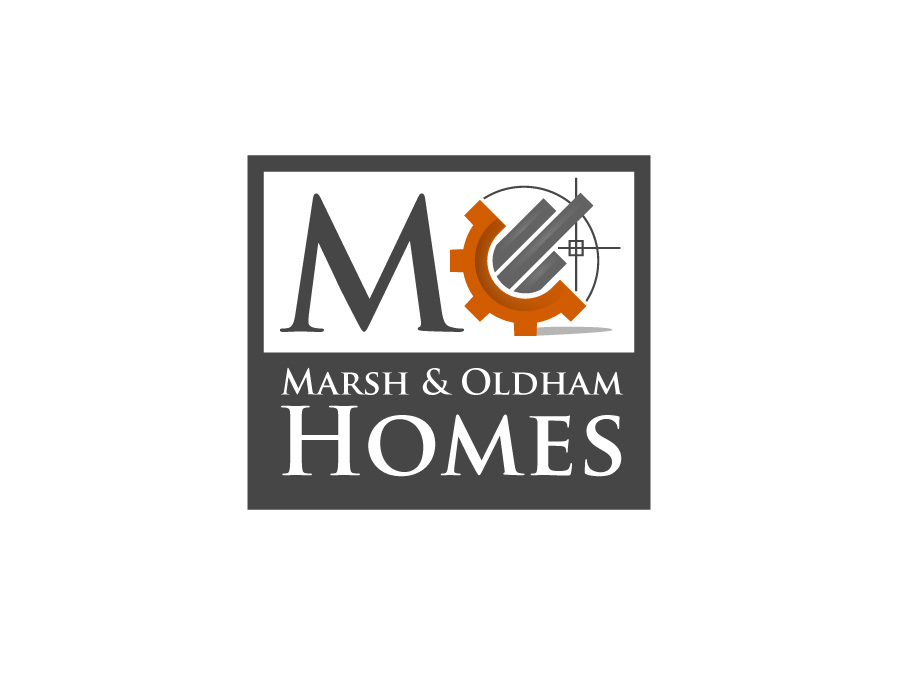 Logo Design by jpbituin - Entry No. 61 in the Logo Design Contest Artistic Logo Design for Marsh & Oldham Homes.