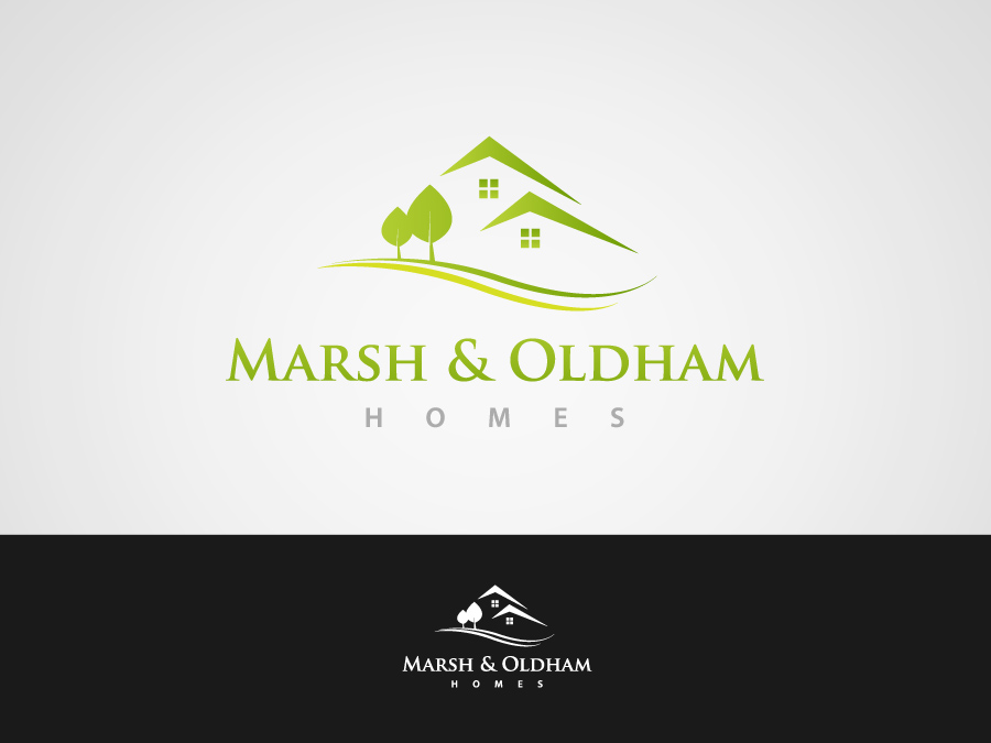Logo Design by jpbituin - Entry No. 62 in the Logo Design Contest Artistic Logo Design for Marsh & Oldham Homes.