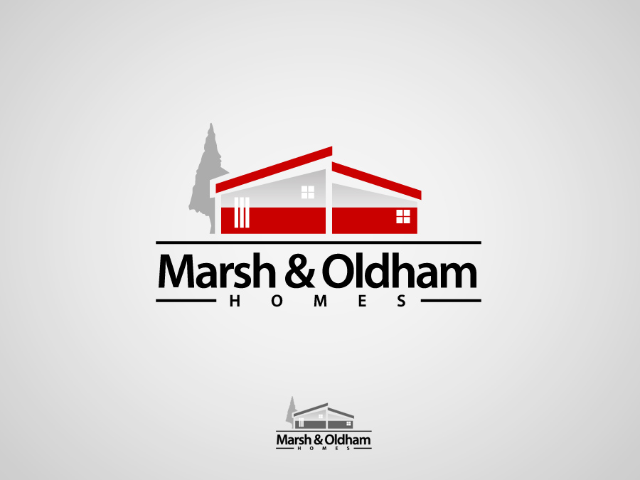 Logo Design by jpbituin - Entry No. 64 in the Logo Design Contest Artistic Logo Design for Marsh & Oldham Homes.