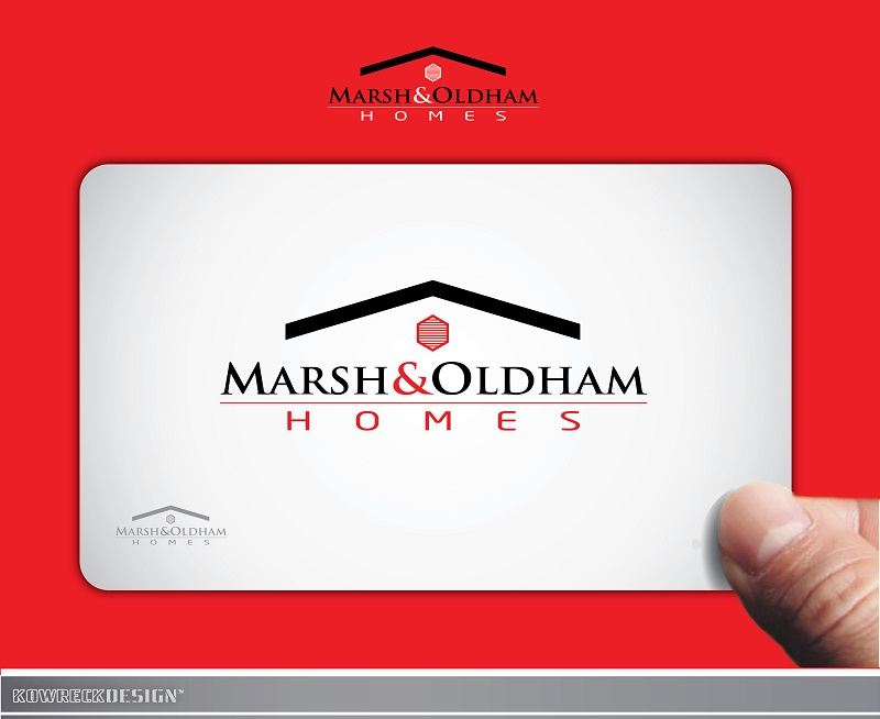 Logo Design by kowreck - Entry No. 67 in the Logo Design Contest Artistic Logo Design for Marsh & Oldham Homes.