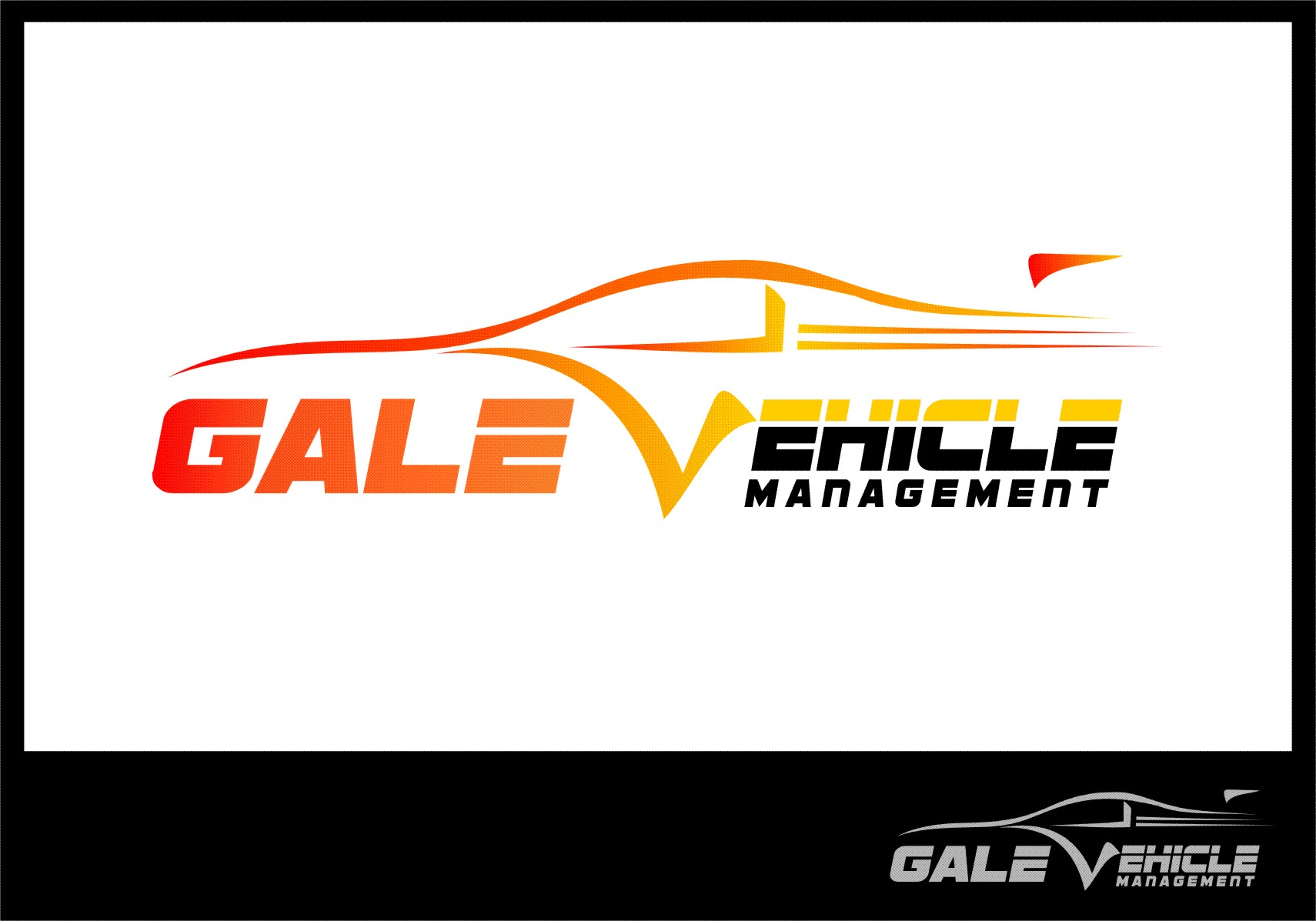 Logo Design by RasYa Muhammad Athaya - Entry No. 50 in the Logo Design Contest Artistic Logo Design for Gale Vehicle Management.