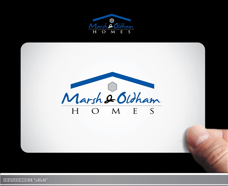 Logo Design by kowreck - Entry No. 69 in the Logo Design Contest Artistic Logo Design for Marsh & Oldham Homes.