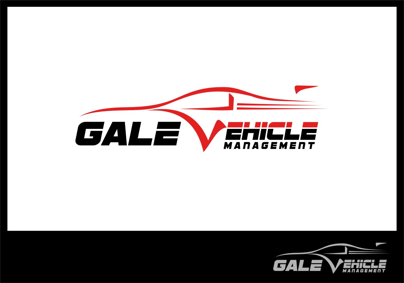 Logo Design by RasYa Muhammad Athaya - Entry No. 54 in the Logo Design Contest Artistic Logo Design for Gale Vehicle Management.