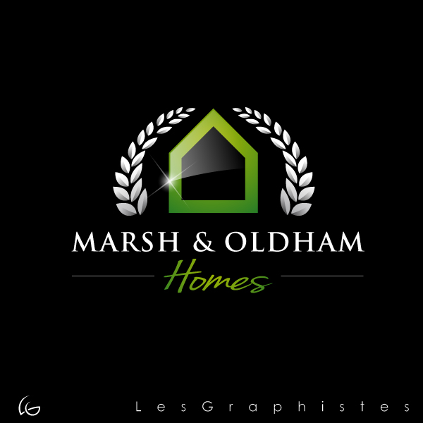Logo Design by Les-Graphistes - Entry No. 72 in the Logo Design Contest Artistic Logo Design for Marsh & Oldham Homes.