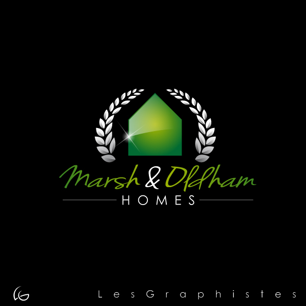 Logo Design by Les-Graphistes - Entry No. 73 in the Logo Design Contest Artistic Logo Design for Marsh & Oldham Homes.