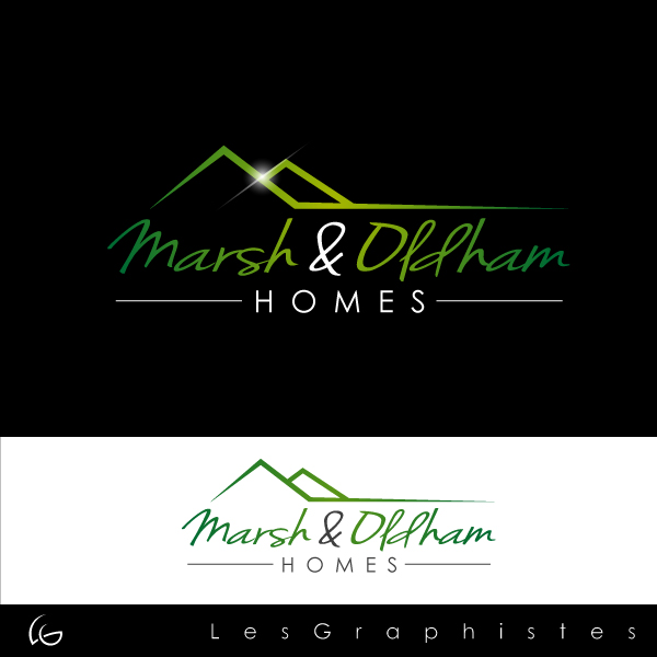 Logo Design by Les-Graphistes - Entry No. 74 in the Logo Design Contest Artistic Logo Design for Marsh & Oldham Homes.