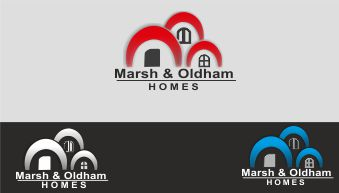 Logo Design by Vallabh Vinerkar - Entry No. 75 in the Logo Design Contest Artistic Logo Design for Marsh & Oldham Homes.