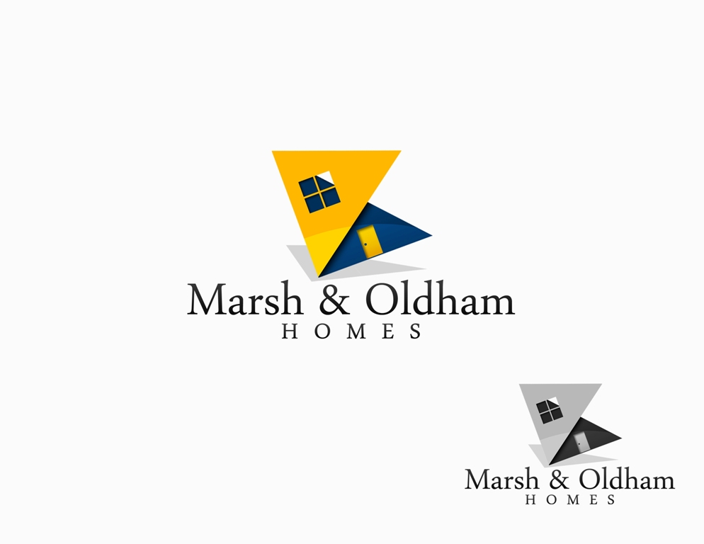 Logo Design by Juan_Kata - Entry No. 76 in the Logo Design Contest Artistic Logo Design for Marsh & Oldham Homes.