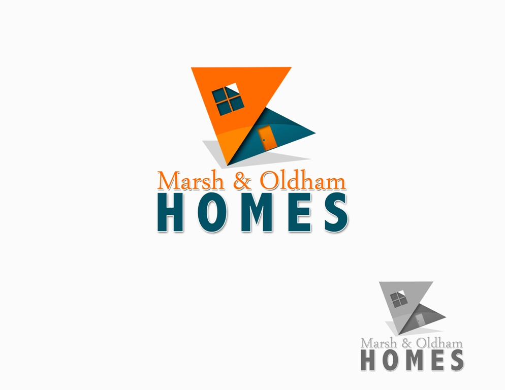 Logo Design by Juan_Kata - Entry No. 83 in the Logo Design Contest Artistic Logo Design for Marsh & Oldham Homes.