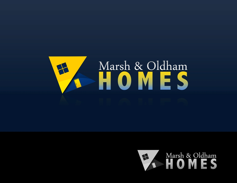 Logo Design by Juan_Kata - Entry No. 85 in the Logo Design Contest Artistic Logo Design for Marsh & Oldham Homes.
